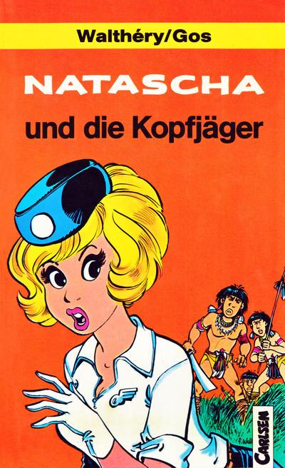 Cover for Carlsen Pocket (Carlsen Comics [DE], 1990 series) #12 - Natascha und die Kopfgeldjäger