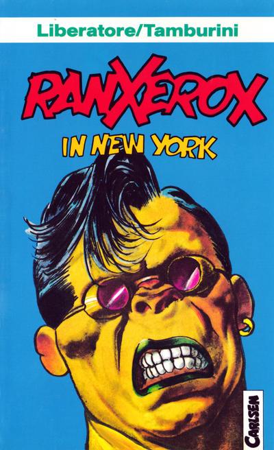 Cover for Carlsen Pocket (Carlsen Comics [DE], 1990 series) #13 - Ranxerox in New York