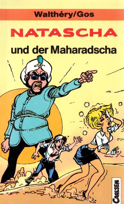 Cover for Carlsen Pocket (Carlsen Comics [DE], 1990 series) #22 - Natascha und der Maharadscha