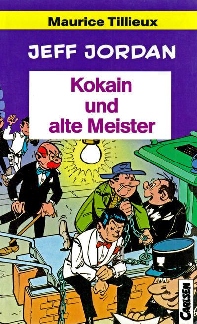Cover for Carlsen Pocket (Carlsen Comics [DE], 1990 series) #25 - Jeff Jordan - Kokain und alte Meister