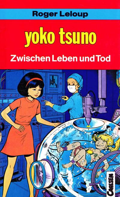 Cover for Carlsen Pocket (Carlsen Comics [DE], 1990 series) #26 - Yoko Tsuno - Zwischen Leben und Tod