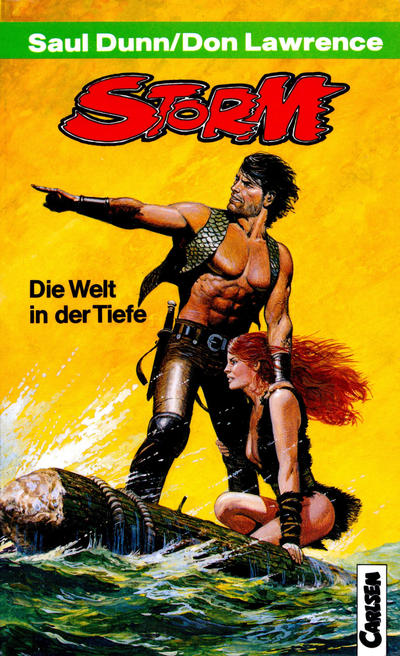 Cover for Carlsen Pocket (Carlsen Comics [DE], 1990 series) #27 - Storm - Die Welt in der Tiefe