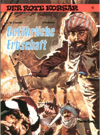 Cover for Der Rote Korsar (Carlsen Comics [DE], 1985 series) #15 - Gefährliche Erbschaft