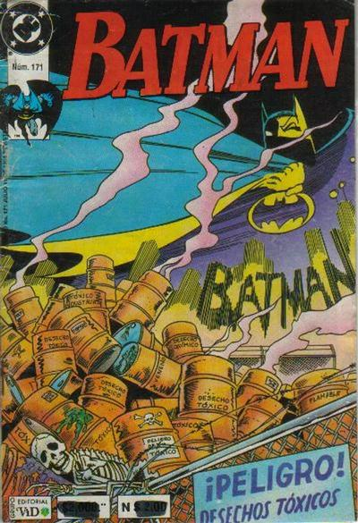 Cover for Batman (Grupo Editorial Vid, 1987 series) #171