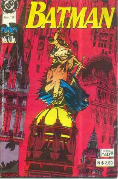 Cover for Batman (Grupo Editorial Vid, 1987 series) #176