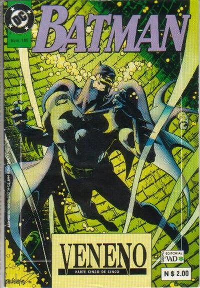 Cover for Batman (Grupo Editorial Vid, 1987 series) #185