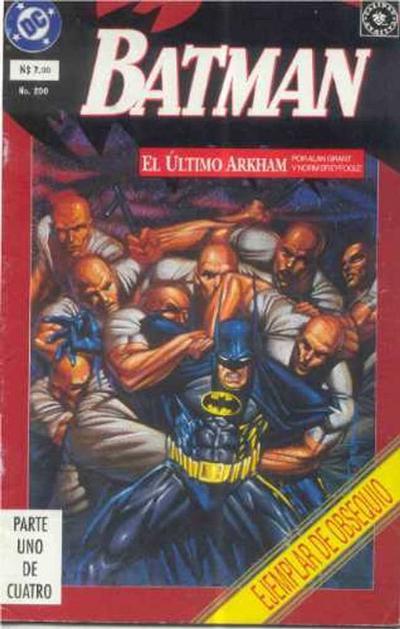 Cover for Batman (Grupo Editorial Vid, 1987 series) #200
