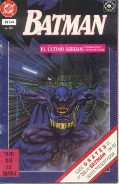 Cover for Batman (Grupo Editorial Vid, 1987 series) #201