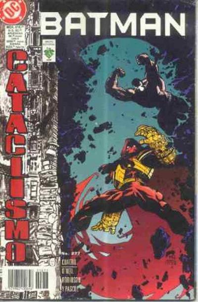 Cover for Batman (Grupo Editorial Vid, 1987 series) #277
