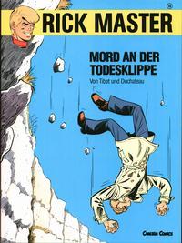 Cover Thumbnail for Rick Master (Carlsen Comics [DE], 1987 series) #18 - Mord an der Todesklippe
