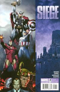 Cover Thumbnail for Siege (Marvel, 2010 series) #1 [Standard Cover]