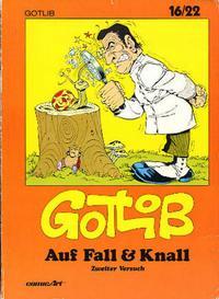 Cover Thumbnail for 16/22 (Carlsen Comics [DE], 1983 series) #11 - Auf Fall & Knall [2]
