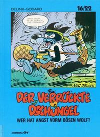 Cover Thumbnail for 16/22 (Carlsen Comics [DE], 1983 series) #18 - Der verrückte Dschungel - Wer hat Angst vorm bösen Wolf?