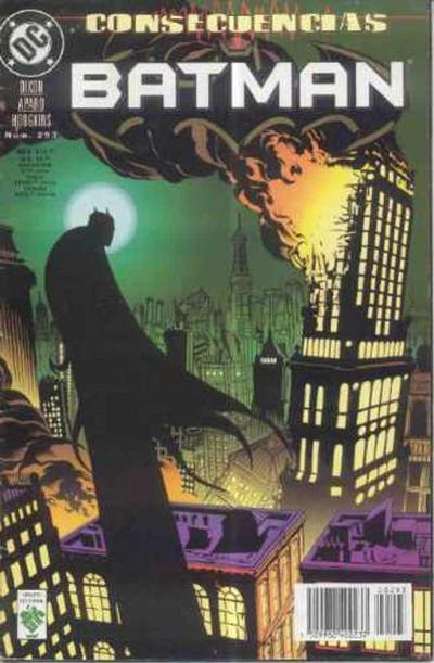 Cover for Batman (Grupo Editorial Vid, 1987 series) #293