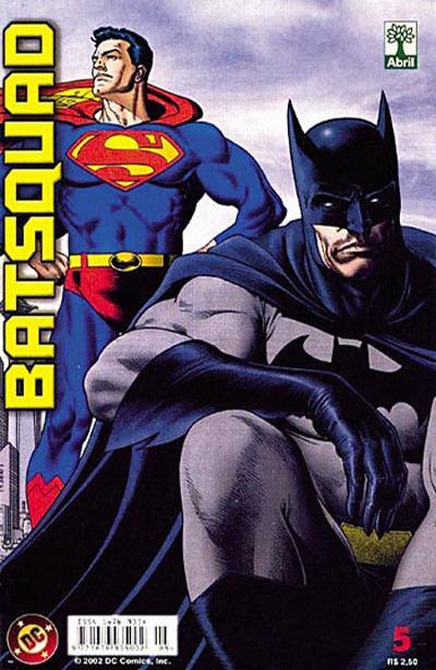 Cover for Batsquad (Editora Abril, 2002 series) #5
