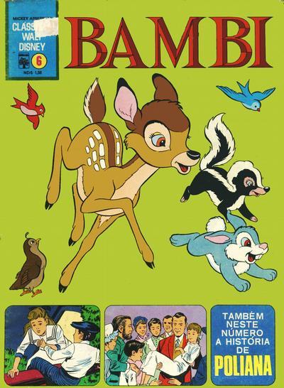 Cover for Clássicos Walt Disney (Editora Abril, 1968 series) #6
