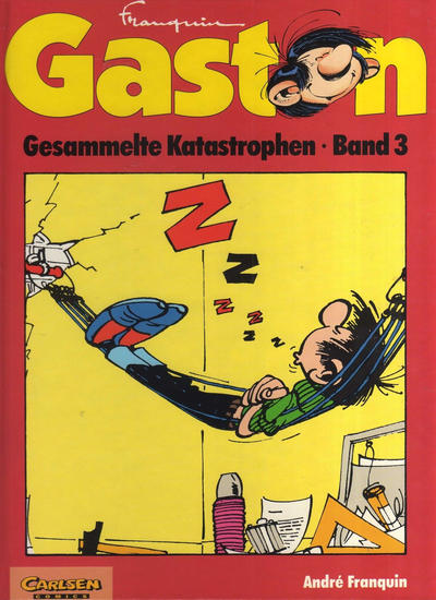 Cover for Gaston (Carlsen Comics [DE], 1993 series) #3
