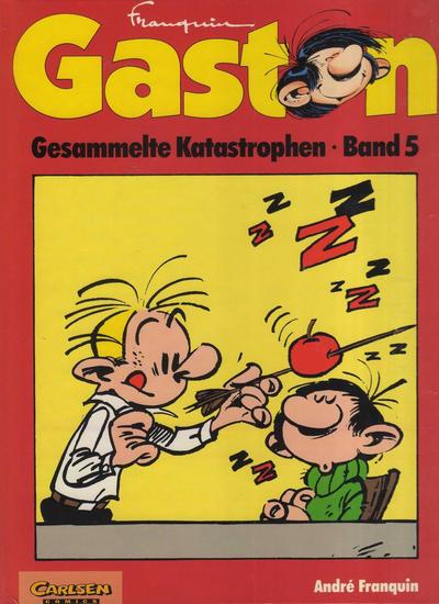 Cover for Gaston (Carlsen Comics [DE], 1993 series) #5
