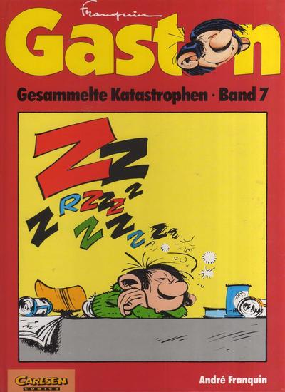 Cover for Gaston (Carlsen Comics [DE], 1993 series) #7