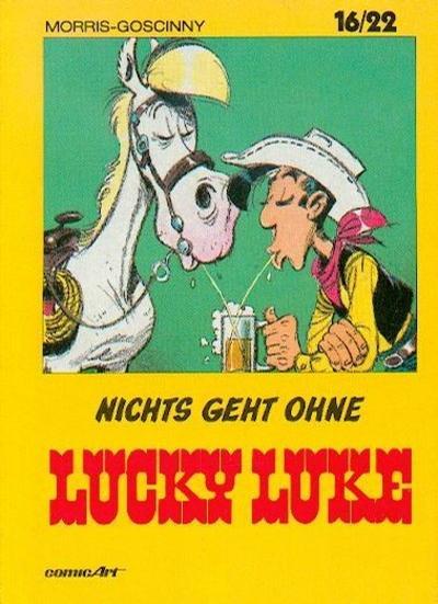 Cover for 16/22 (Carlsen Comics [DE], 1983 series) #1 - Nichts geht ohne Lucky Luke