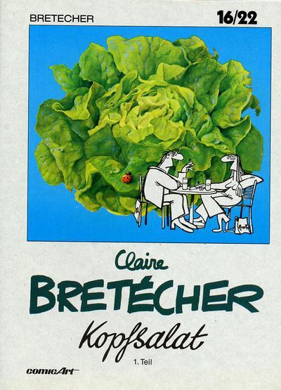Cover for 16/22 (Carlsen Comics [DE], 1983 series) #2 - Kopfsalat [1]