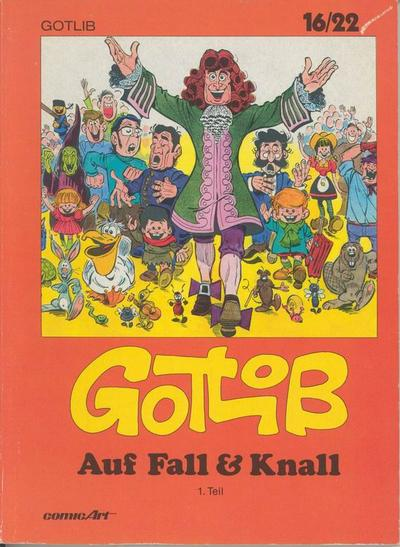 Cover for 16/22 (Carlsen Comics [DE], 1983 series) #4 - Auf Fall & Knall [1]