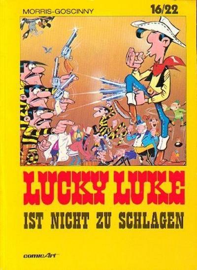 Cover for 16/22 (Carlsen Comics [DE], 1983 series) #5 - Lucky Luke ist nicht zu schlagen