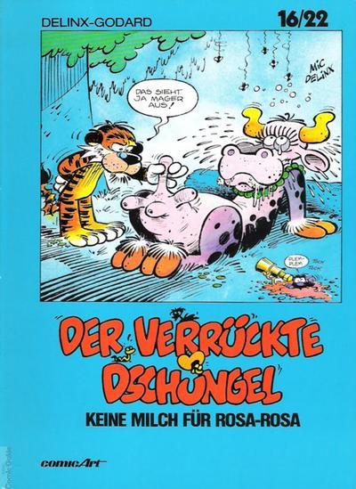 Cover for 16/22 (Carlsen Comics [DE], 1983 series) #9 - Der verrückte Dschungel - Keine Milch für Rosa-Rosa