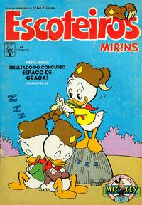 Cover Thumbnail for Escoteiros Mirins (Editora Abril, 1988 series) #24