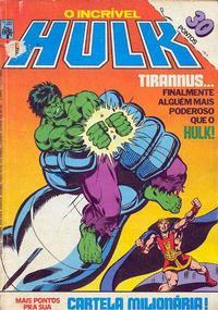 Cover Thumbnail for O Incrível Hulk (Editora Abril, 1983 series) #6
