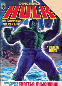 Cover for O Incrível Hulk (Editora Abril, 1983 series) #7