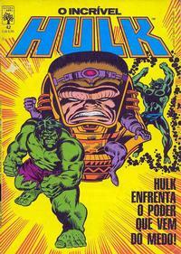 Cover Thumbnail for O Incrível Hulk (Editora Abril, 1983 series) #42