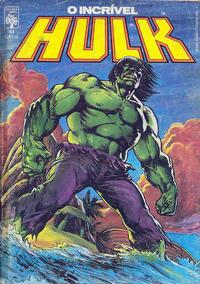 Cover Thumbnail for O Incrível Hulk (Editora Abril, 1983 series) #43