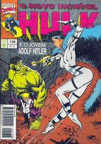 Cover Thumbnail for O Incrível Hulk (Editora Abril, 1983 series) #138