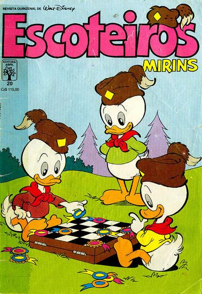 Cover for Escoteiros Mirins (Editora Abril, 1988 series) #20