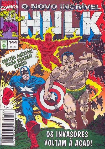 Cover for O Incrível Hulk (Editora Abril, 1983 series) #144