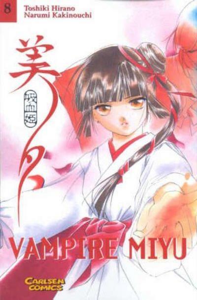 Cover for Vampire Miyu (Carlsen Comics [DE], 2001 series) #8