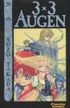 Cover for 3 x 3 Augen (Carlsen Comics [DE], 2002 series) #28