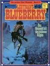 Cover for Die großen Edel-Western (Egmont Ehapa, 1979 series) #21 - Leutnant Blueberry - Das Gespenst mit den goldenen Kugeln
