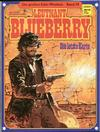 Cover for Die großen Edel-Western (Egmont Ehapa, 1979 series) #39 - Leutnant Blueberry - Die letzte Karte