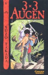 Cover for 3 x 3 Augen (Carlsen Comics [DE], 2002 series) #6