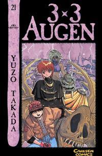 Cover Thumbnail for 3 x 3 Augen (Carlsen Comics [DE], 2002 series) #21