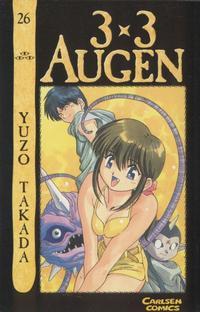 Cover Thumbnail for 3 x 3 Augen (Carlsen Comics [DE], 2002 series) #26