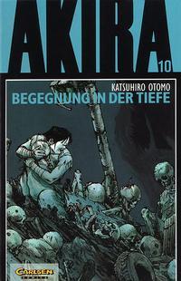 Cover Thumbnail for Akira (Carlsen Comics [DE], 1991 series) #10 - Begegnung in der Tiefe