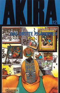 Cover Thumbnail for Akira (Carlsen Comics [DE], 1991 series) #12