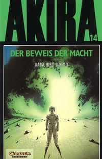 Cover Thumbnail for Akira (Carlsen Comics [DE], 1991 series) #14 - Der Beweis der Macht