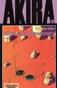 Cover Thumbnail for Akira (Carlsen Comics [DE], 1991 series) #18 - Träume aus der Vergangenheit