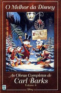 Cover for O Melhor da Disney: As Obras Completas de Carl Barks (Editora Abril, 2004 series) #8