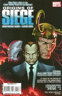 Cover Thumbnail for Origins of Siege (Marvel, 2010 series) #1