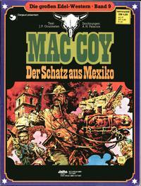 Cover Thumbnail for Die großen Edel-Western (Egmont Ehapa, 1979 series) #9 - Mac Coy  - Der Schatz aus Mexiko